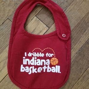 NWOT Indiana Basketball bib